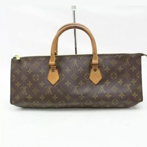 AUTHENTIC LOUIS VUITTON Monogram Sac triangle